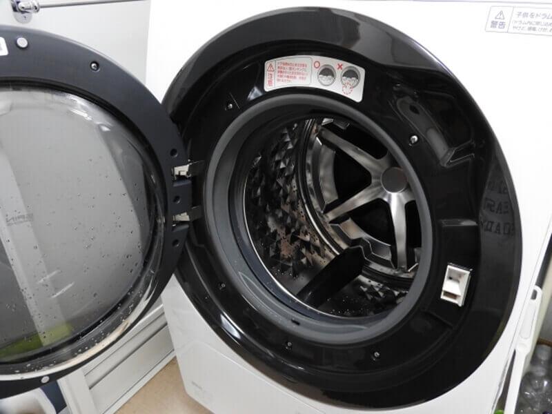 洗濯機がポリマーまみれ